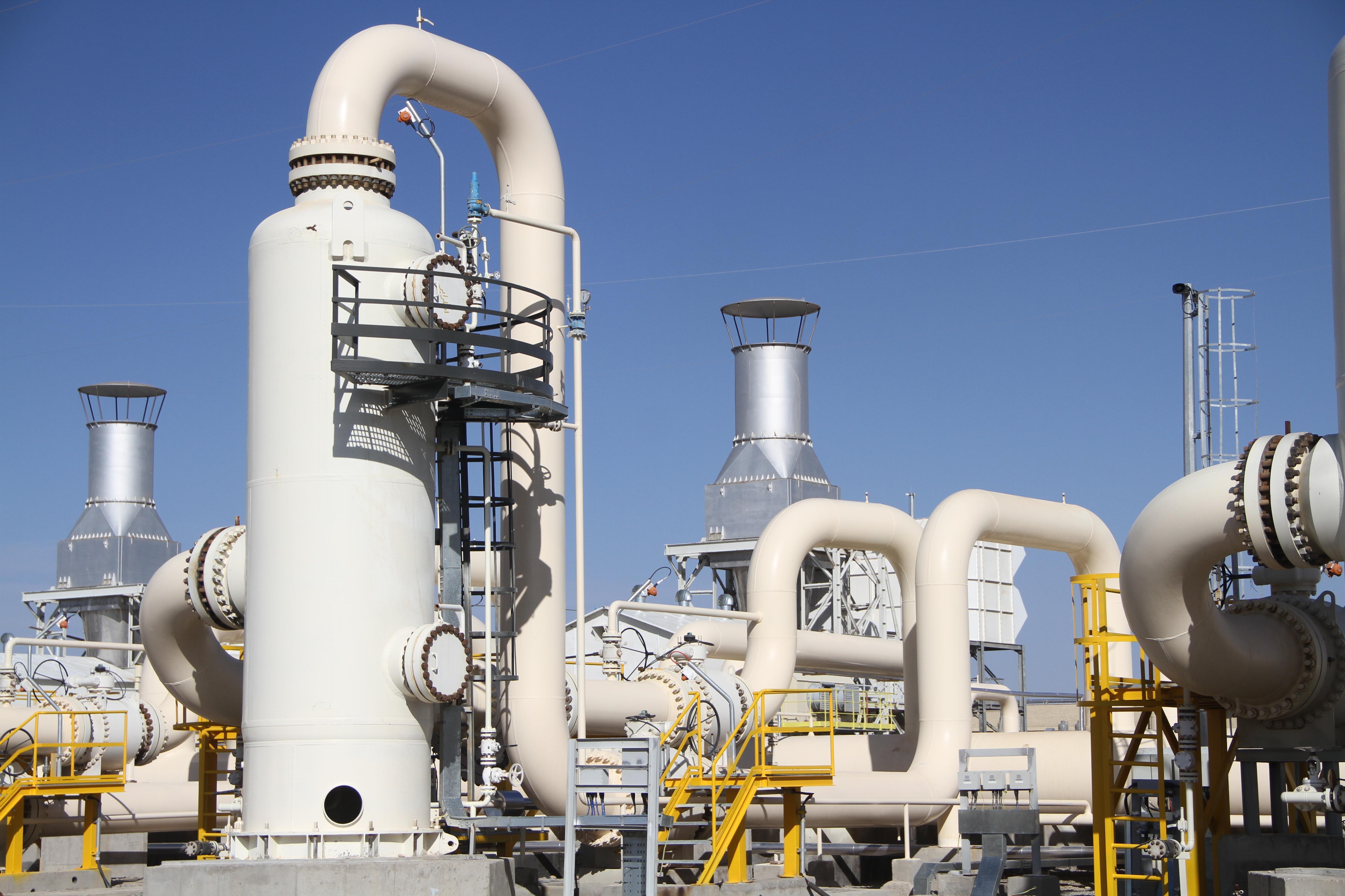 احداث ايستگاه تقويت فشار گاز قزوين