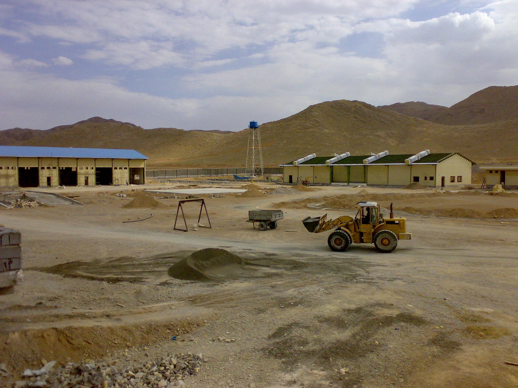احداث يارد تعميراتی آباده در استان فارس